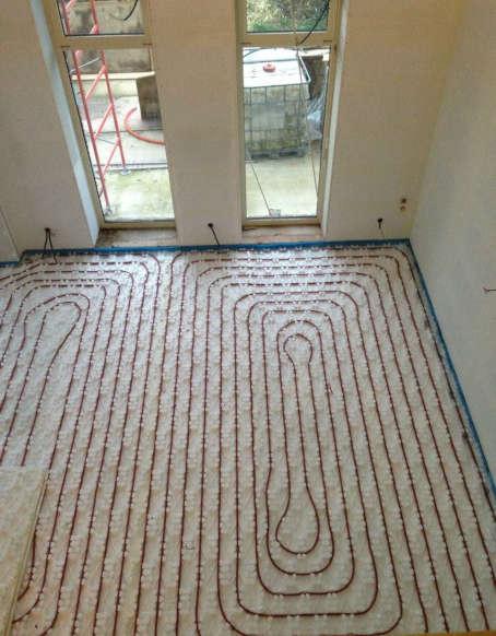 installation plancher chauffant bavay
